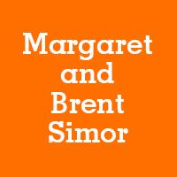 Margaret and Brent Simor