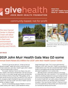 Spring 2020 Give Health Newsletter